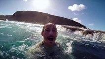 Incedible Canary Islands Bodyboarding GoPro footage with Sacha Specker