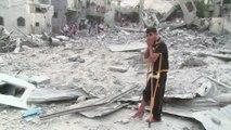 Bombardement de Gaza, des Palestiniens s'interrogent