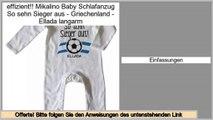 Rabatt Mikalino Baby Schlafanzug So sehn Sieger aus - Griechenland - Ellada langarm