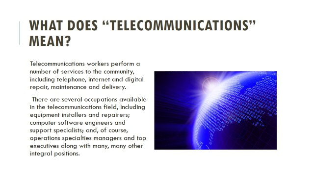 How to get a Job in Telecommunications - Issa Asad