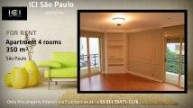 Apartamento 4 quartos / 5 suites / 5 vagas - 350 m² - Jardins - São Paulo