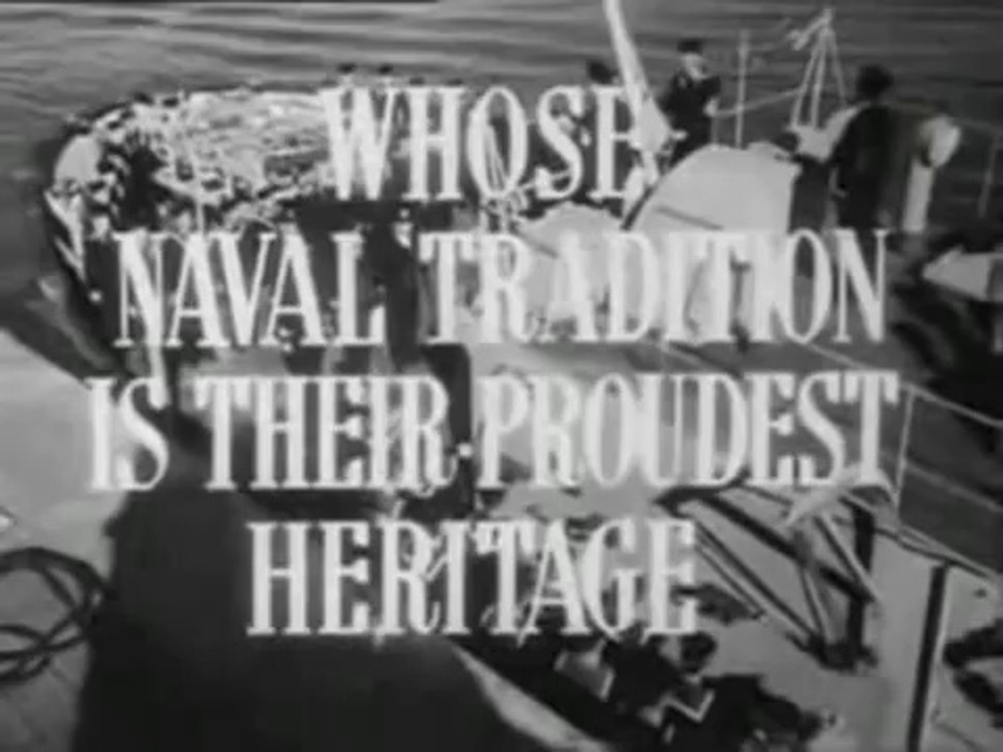 Cruel Sea Theatrical Movie Trailer (1953)