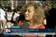 España: indignación y repudio contra masacre israelí en Gaza