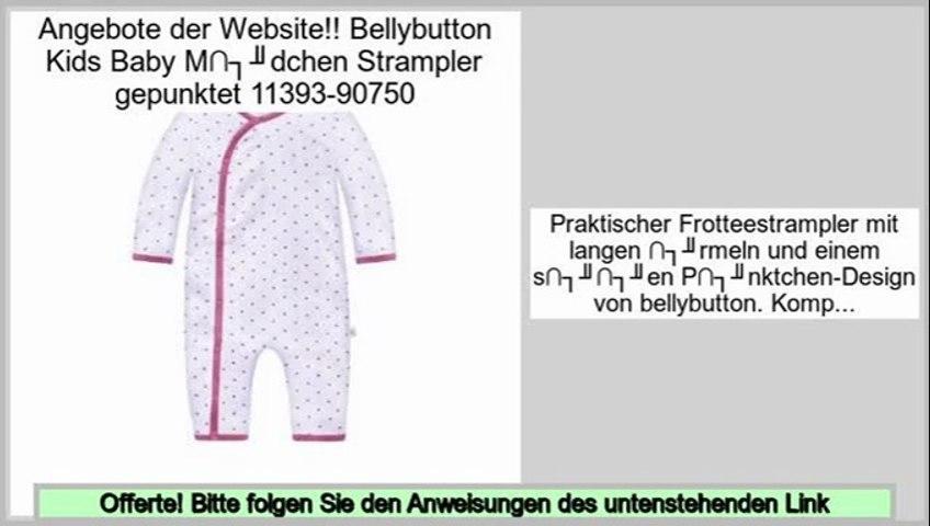 M/ädchen Strampler Schlafstrampler mit Fu/ß 10892-90619 Bellybutton Kids Baby