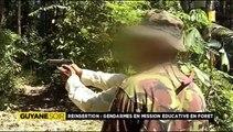 2014/07/23 19h30 Jt RFO► En Guyane des Gendarmes Enseignent le TIR-Sportif Maniement des ARMES-à-FEU aux Délinquants pour Lutter contre la Récidive/ Criminalité Disent-ils Extrait Journal Information TV Outre-Mer France Télévision Mercredi 23 Juillet 2014