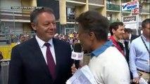 Tour de France - Thierry Braillard interviewé par Gérard Holtz