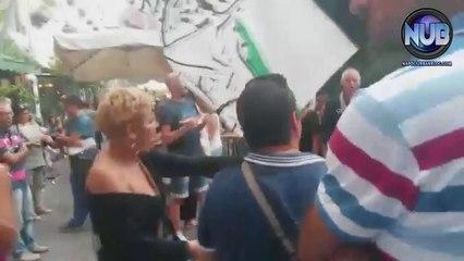 "Flash mob ""Una Voce per La Palestina"""
