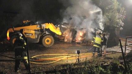 Villers-Sire-Nicole : un incendie se déclare dans une exploitation agricole