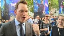 Chris Pratt attends UK premiere of Guardians of the Galaxy