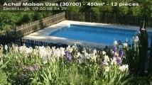A vendre - Maison/villa - Uzes (30700) - 12 pièces - 450m²
