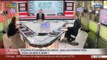 Céline Antonin et Benaouda Abdeddaïm, dans Le Grand Journal – 25/07 3/7