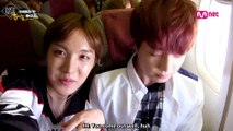 [ENG] [American Hustle Life] Unreleased Cut- Excited Bangtan Boys who are inside the airplane that's headed towards America | ABS