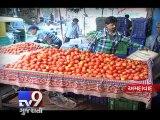 Tomato Prices Skyrocket to Rs.100 Per Kg, Ahmedabad - Tv9 Gujarati