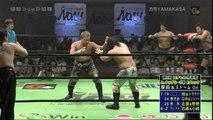 Takashi Sugiura, Daisuke Harada & Quiet Storm vs. Muhammed Yone, Daisuke Ikeda & Akitoshi Saito (NOAH)
