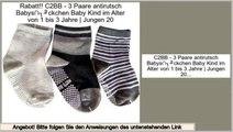 Deal Of The Day C2BB - 3 Paare antirutsch Babys�ckchen Baby Kind im Alter von 1 bis 3 Jahre | Jungen 20