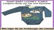 Am besten bewertet BABY LOONEY TUNES Langarm-Body mit Taz und Sylvester - blau