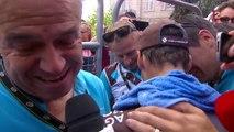 Tour de France : les larmes de joie de Jean-Christophe Péraud