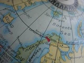 """Tour du cercle polaire en 66""""33'"""