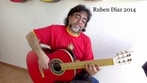 Avoid Resting Thumb on 6th String Playing Strummings /  Paco de Lucias´s Modern Flamenco Guitar Technique / Learn Spanish Guitar Online on Skype Ruben Diaz  A & Q + Tips CFG