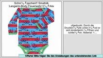Wertung Smafolk Langarm-Body Feuerwehr t�rkis