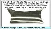 Hot Deals HuntGold Neue S�uglinge und Kleinkinder Komfortable weich Cotton niedlichen Kaninchen Form M�tze(gr�n und wei�)
