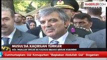 """Cumhurbaşkanı Gül Konuşurken """"Başbakan Abdullah Gül"""" Sloganları"""