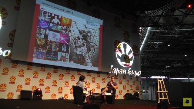 [Japan Expo 2014] Izumi MATSUMOTO - Conférence & live drawing