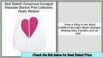 Top Rated Gunamuna Gunapod Wearable Blanket Print Collection; Heart; Medium