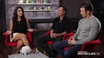Chris Evans & Mark Ruffalo 'Avengers- Age of Ultron' Exclusive Interview- Comic-Con (2014) HD