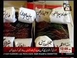 Multan women send Bangles (Eid gift) to PTI representative Makhdoom Javed Hashmi, Shah Mehmood Qureshi on failure to work