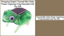 Consumer Reviews Toymall Mini Solar Power Capering Frog Education Aid Toy Gift