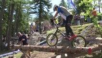 Alpes-de-Haute-Provence: La coupe du monde de VTT Trial à Pra-loup, le podium féminin