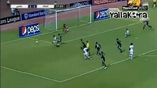 احمد علي يهدر ضربة جزاء
