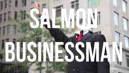Salmon Businessman