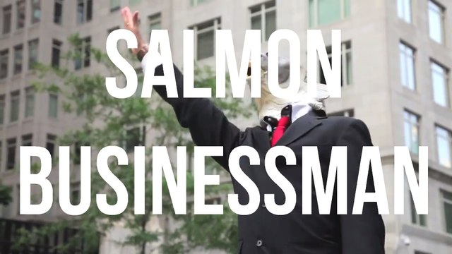 Salmon Businessman