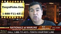 MLB Pick Miami Marlins vs. Washington Nationals Odds Prediction Preview 7-30-2014