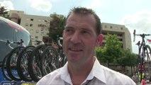 Tour de France 2014 - Etape 21 - Thierry Bricaud le directeur sportif de Thibaut Pinot et la FDJ.fr avec son bilan de ce Tour