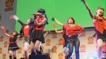 Concert du groupe d'idoles Orange port lors de la Japan Expo 2014