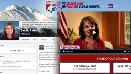 Sarah Palin Launches Her Own Channel, Results in #PalinTVShows