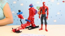 Spider-Man Figure with Web Copter / Spider Copter z Figurką Spider-Man - Spider-Man - Hasbro - A6747 - Recenzja