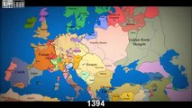 * Watch As 1000 Years Of European Borders Change Timelapse Map *
