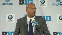 Franklin Speaks at Big Ten Media Days