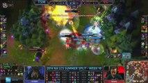 Top 10 - NA & EU LCS Summer WK 10 [S4] (League of Legends)