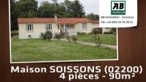 A vendre - maison - SOISSONS (02200) - 4 pièces - 90m²