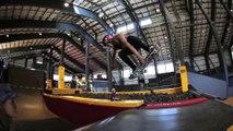 Alana Smiths 1st Back Flip - Skateboard