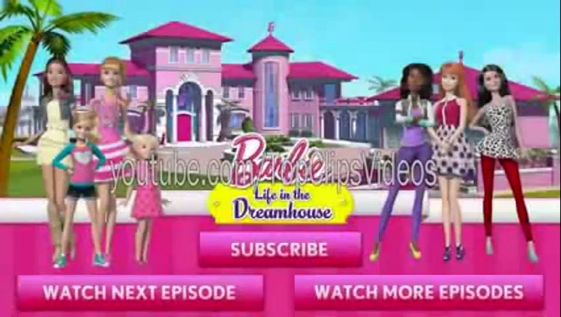 Barbie Life In The Dreamhouse Barbie the Princess Barbie Charm School Singing Realize Video 2014 HD