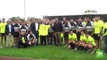 La grande famille du rugby réunie au stade Albert Domec de Carcassonne pour marquer  son engagement aupès du  3ème RPIMA :