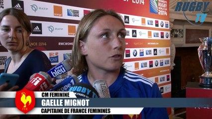 XV DE FRANCE  FEMININE LANCEMENT COUPE DU MONDE