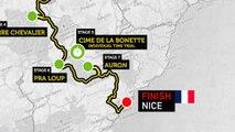 Haute Route Alps 2013 - The Route   Le Parcours