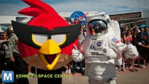 Angry Birds Space Interactive Exhibit Opens at Kennedy Space Center